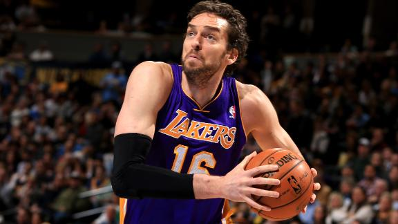 Pau Gasol Agrees To Deal With Bulls