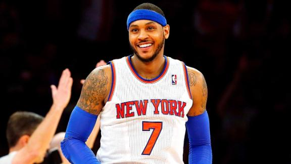 Carmelo, Knicks Negotiating Deal