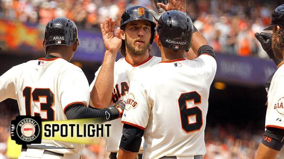 Giants Hit Two Grand Slams