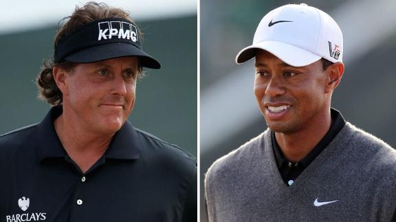 Expectations For Phil, Tiger