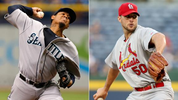 King Felix, Wainwright to start All-Star Game