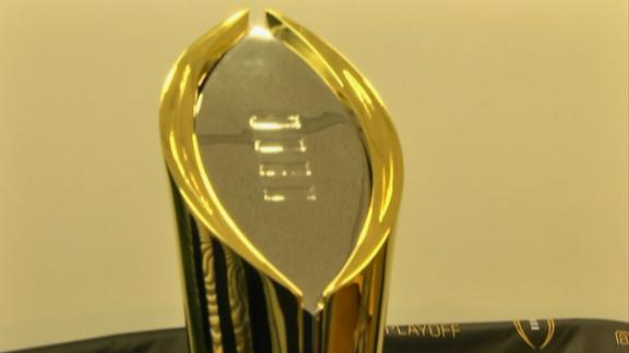 College Football Championship Trophy Revealed