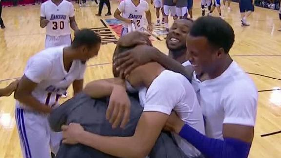 Video - Randle, Lakers Top Warriors In OT