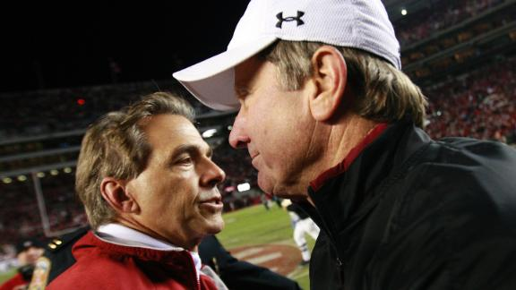 Spurrier Taking A Shot At Saban?