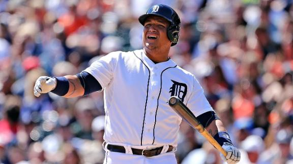 Miguel Cabrera Playing With Pain