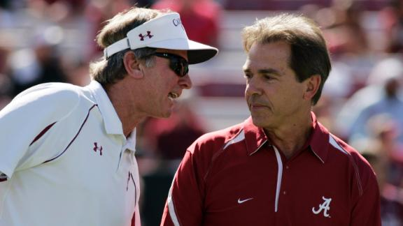Spurrier Praises Saban's Recruiting