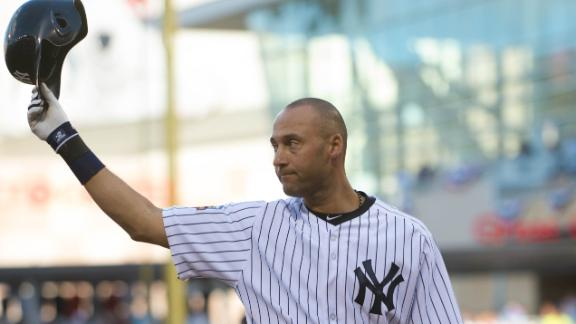 Jeter, Trout own stage as AL prevails in ASG