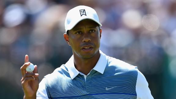 Tiger Feeling Good After First Round