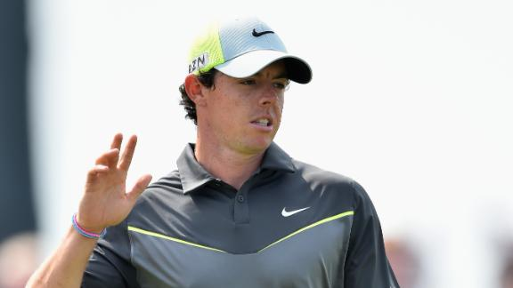 McIlroy Extends Lead At Open Championship