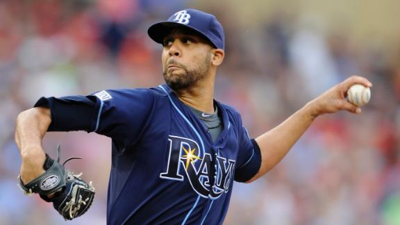 Price wins 5th straight start; Rays top Twins