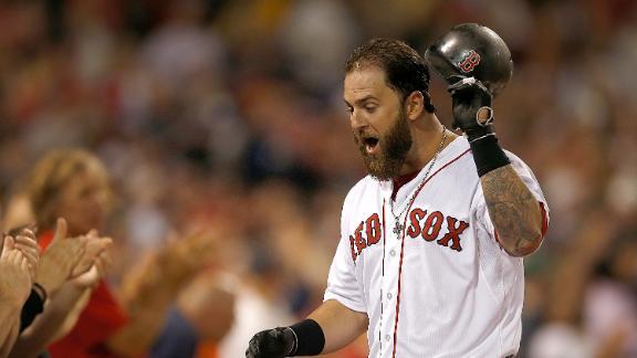 De La Rosa, Napoli lift Red Sox over Royals