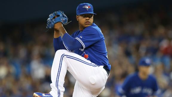 Stroman Sharp In Blue Jays' Win