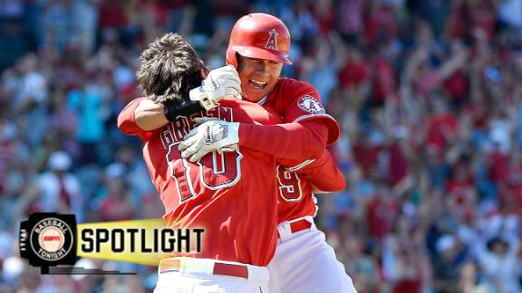Angels Score Twice In Ninth To Win