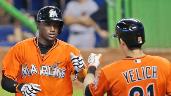 Video - Marlins Slip Past Giants To Avoid Sweep