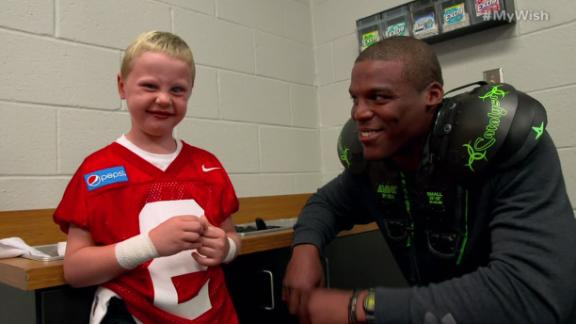 Video - My Wish: Cam Newton