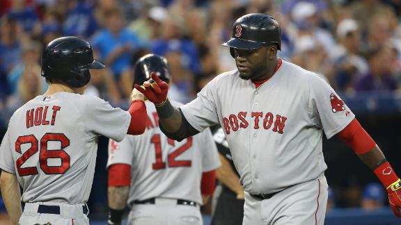 Red Sox Rout Blue Jays