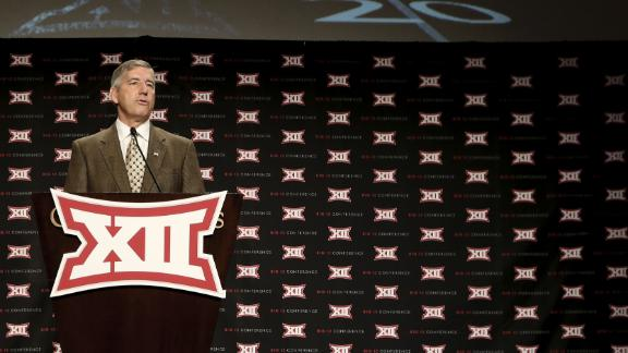 Big 12 Commissioner: Cheating Pays