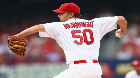 Wainwright Struggles Against Rays