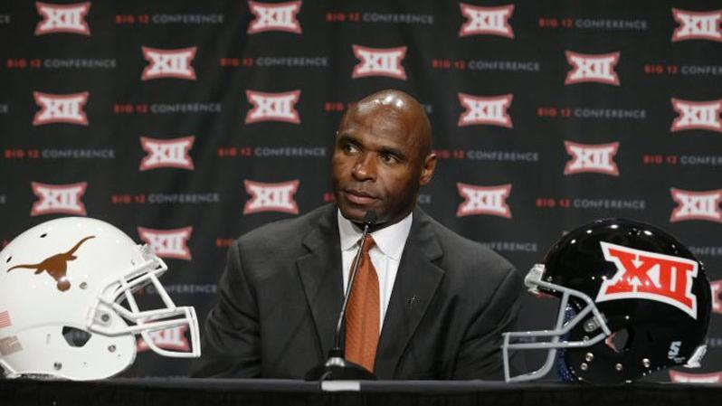 Strong Addresses Media at Big 12 Media Days