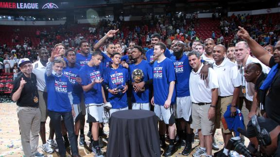 Kings rally late to claim summer-league title