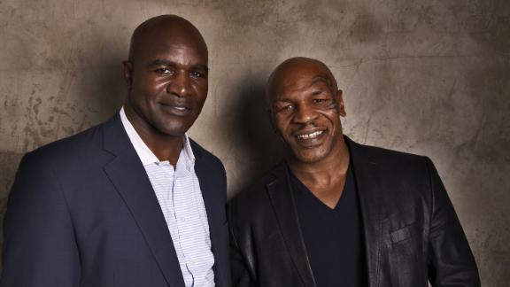 Holyfield To Be Presented By Tyson At Hall