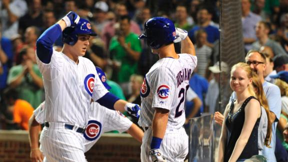 Video - Rizzo Homers Twice, Takes NL Lead