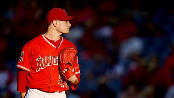 Angels won't limit ace Richards' workload
