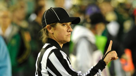 Big 12 Names Female Football Official