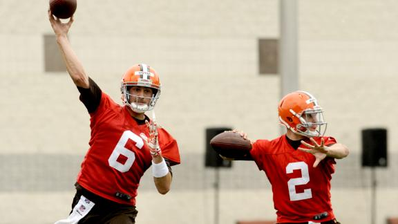 Browns To Name Starting QB By Third Preseason Game