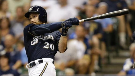 Lucroy Puts The Brewers On His Back