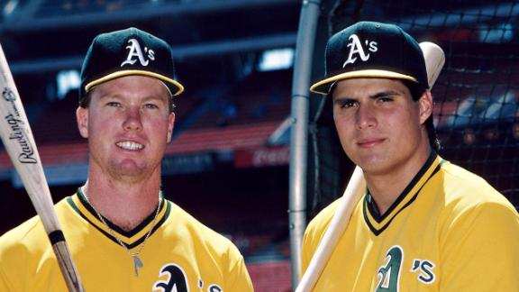 McGwire On Canseco: 'It's Too Late'