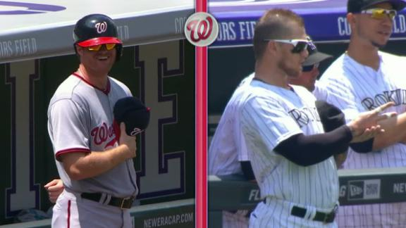 Barrett Wins Stare-Down; Nats Fall