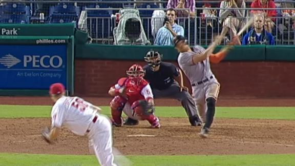 Video - Pence's Three-Run Triple