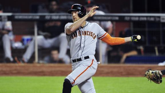 Video - Pence, Giants Top Phillies