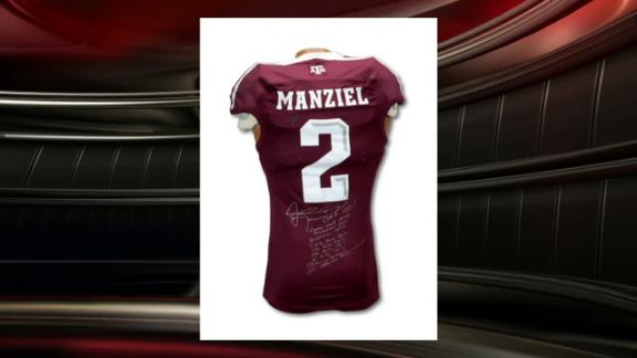 Mint Condition: Manziel Heisman Jersey For Sale