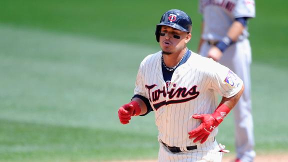 Arcia Homers As Twins Top Indians