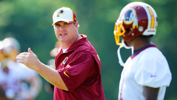 Redskins Hit Camp