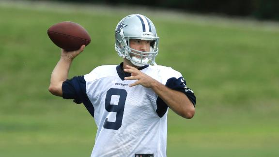 Romo Ready For Cowboys Training Camp