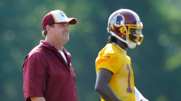 Gruden Off To Good Start With RG III, Jackson