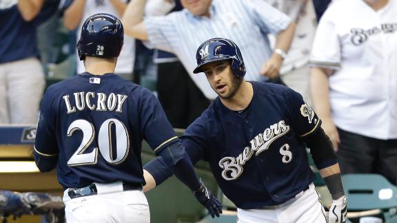 Lucroy, Brewers Sink Mets