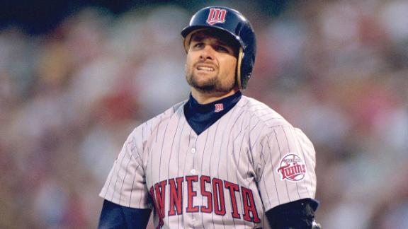 Twins Call Off Knoblauch Induction