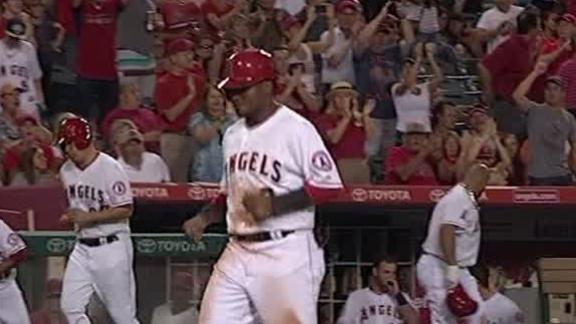 Angels Come Back Against Orioles