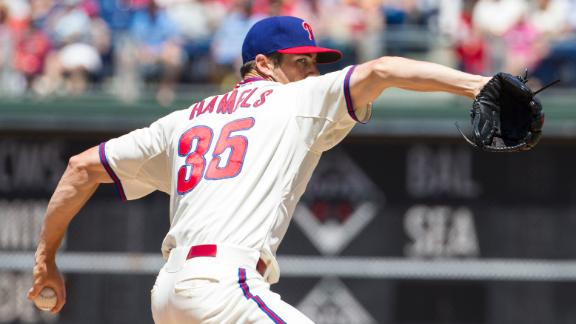 Hamels Outduels Hudson