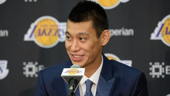 Lakers Welcome Jeremy Lin