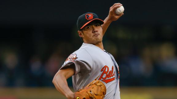 Orioles Shut Out Mariners