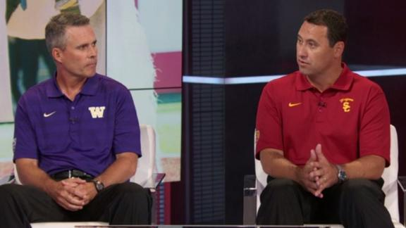 Peterson, Sarkisian Talk Upcoming Season