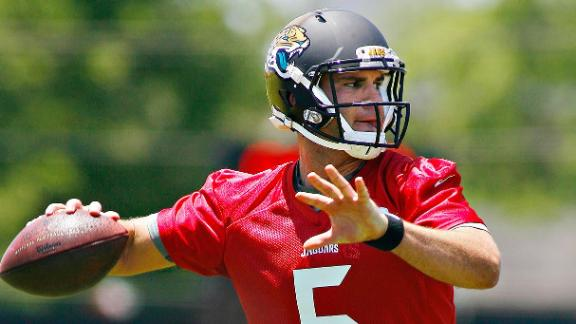Bortles Has Inconsistent First Day