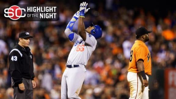 Puig's Big Night Propels Dodgers