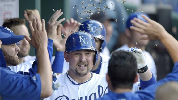 Butler's Blast Lifts Royals