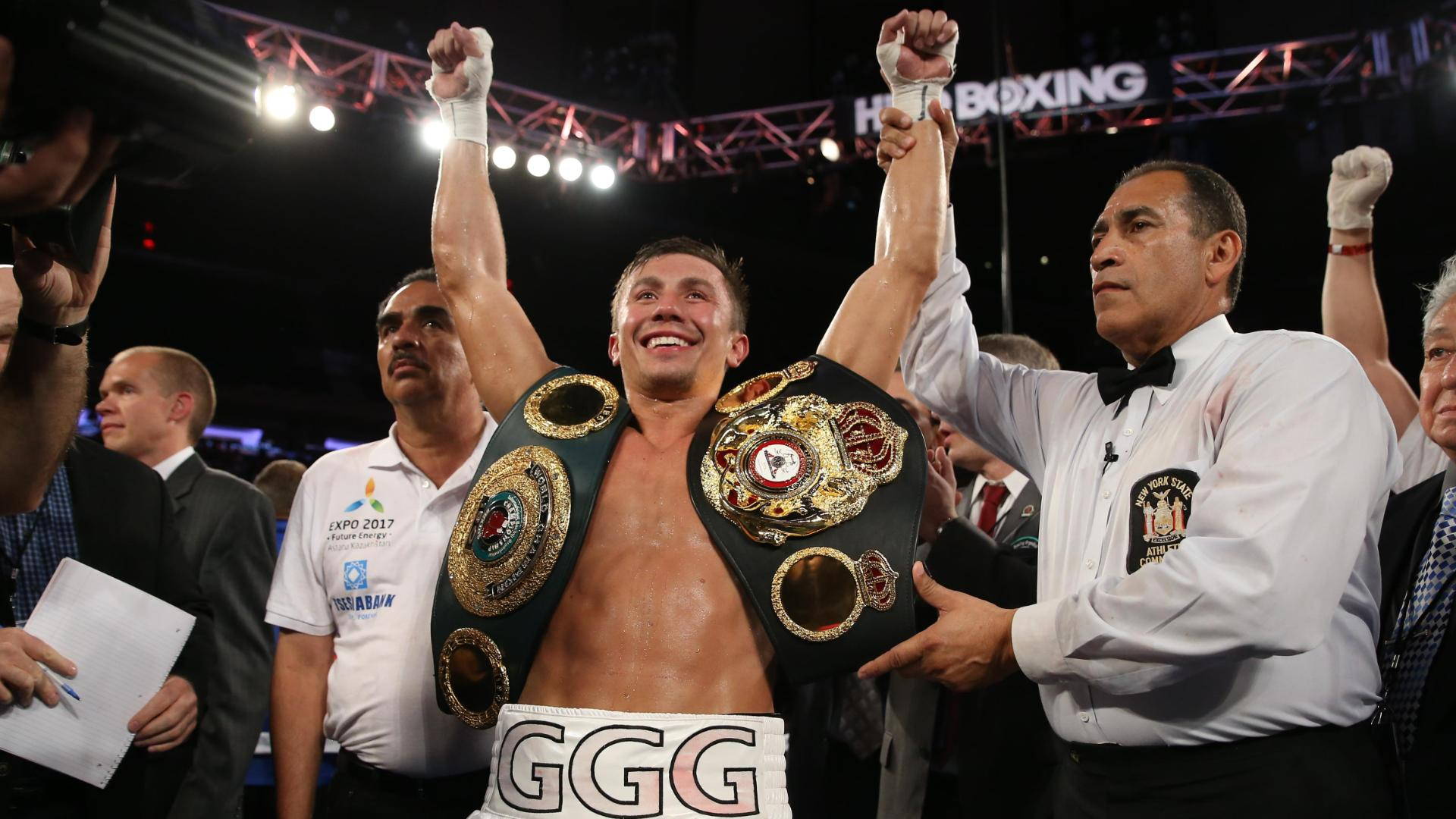 Golovkin Wins By Third-Round TKO